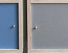 Ply-wood Shelves & Desk