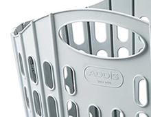 'Fold-flat' Washing Basket
