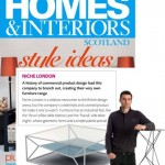 Homes & Interiors promote our furniture range